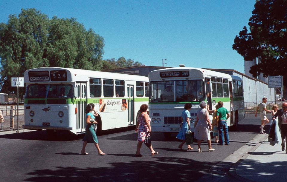 Melbourne Private Bus Routes 1971 To 1990 500 599 Bcsv