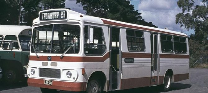 Melbourne Private<br> Bus Routes <br>1971 to 1990: <br> 500 – 599