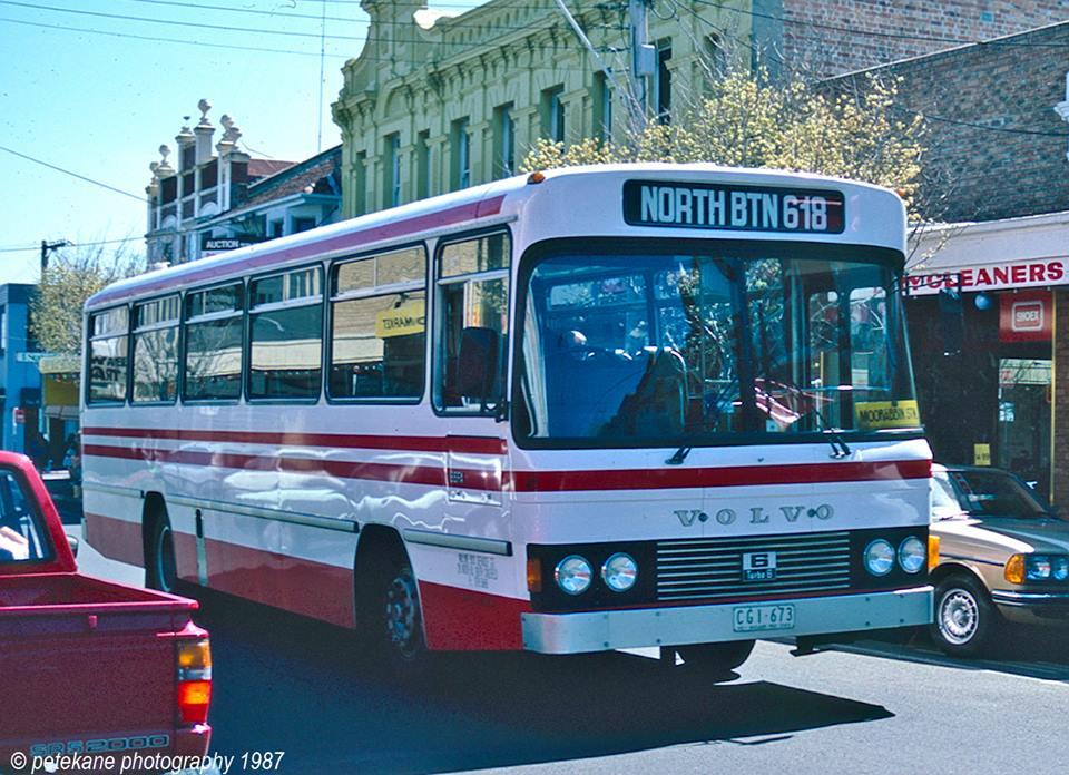 Melbourne Private Bus Routes 1971 To 1990 600 699 Bcsv