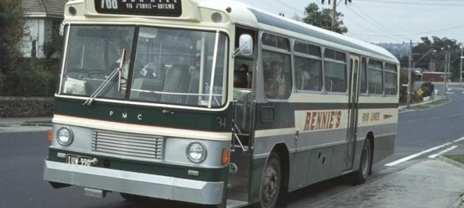 Melbourne Private<br> Bus Routes <br>1971 to 1990: <br> 700 – 799