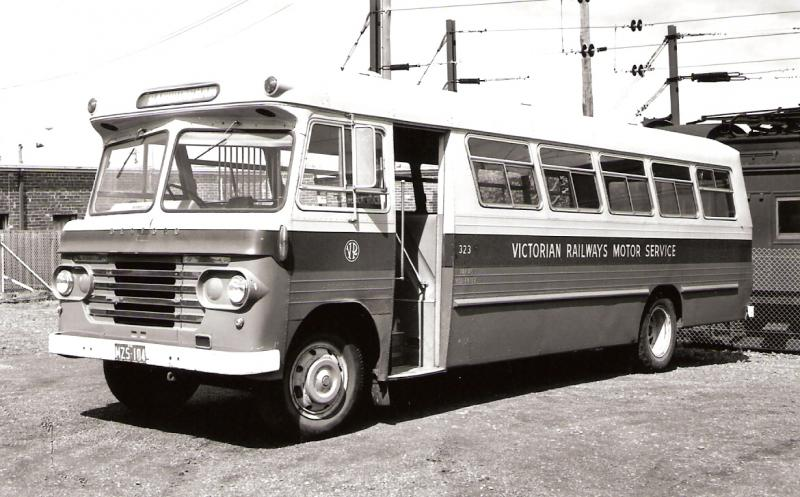 Melbourne& GeelongVictorianRailwaysMotor Services1925 to
