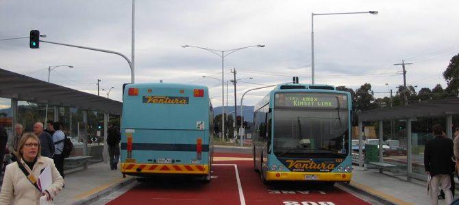 2005-07-24: Knox Transit Link & Wattle Park changes part 2