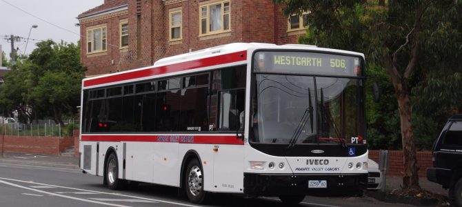 Public Holiday Inconsistencies on Melbourne's Buses