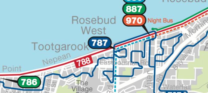 PTV Local Area Maps: Mornington Peninsula