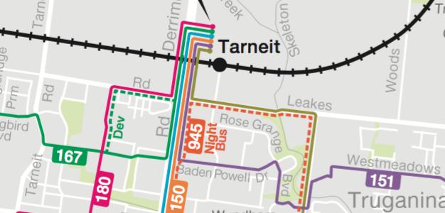 PTV Local Area Maps: Wyndham
