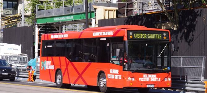 2017-08-31: Melbourne Visitor Shuttle to end
